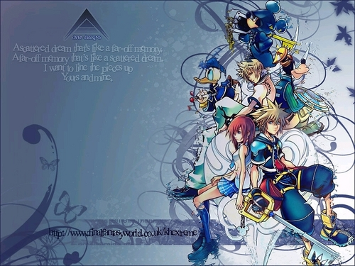 Kingdom Hearts 2 wallpaper with animê entitled KH2