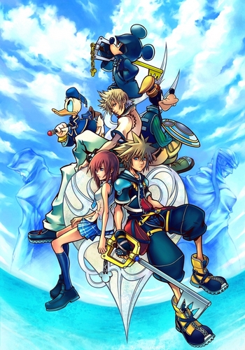 Kingdom Hearts 2 wallpaper containing animê titled KH2