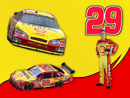 NASCAR wallpaper with a stock car and an auto racing called Kevin Harvick
