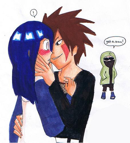 The Night - Naruto Couples by octogone on DeviantArt |Kiba And Hinata Kissing