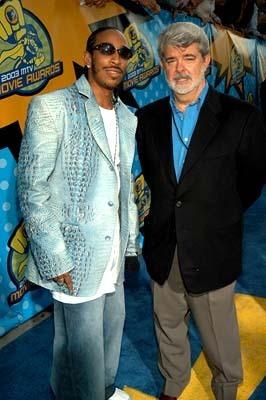 L & George Lucas @ 2003 MTV Movie Awards