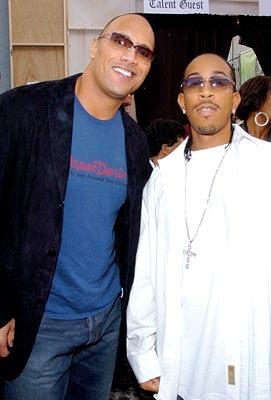 L & The Rock @ 2004 MTV Movie Awards