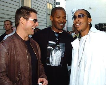 L with Tom Cruise & Jamie Foxx @ 2004 MTV Movie Awards