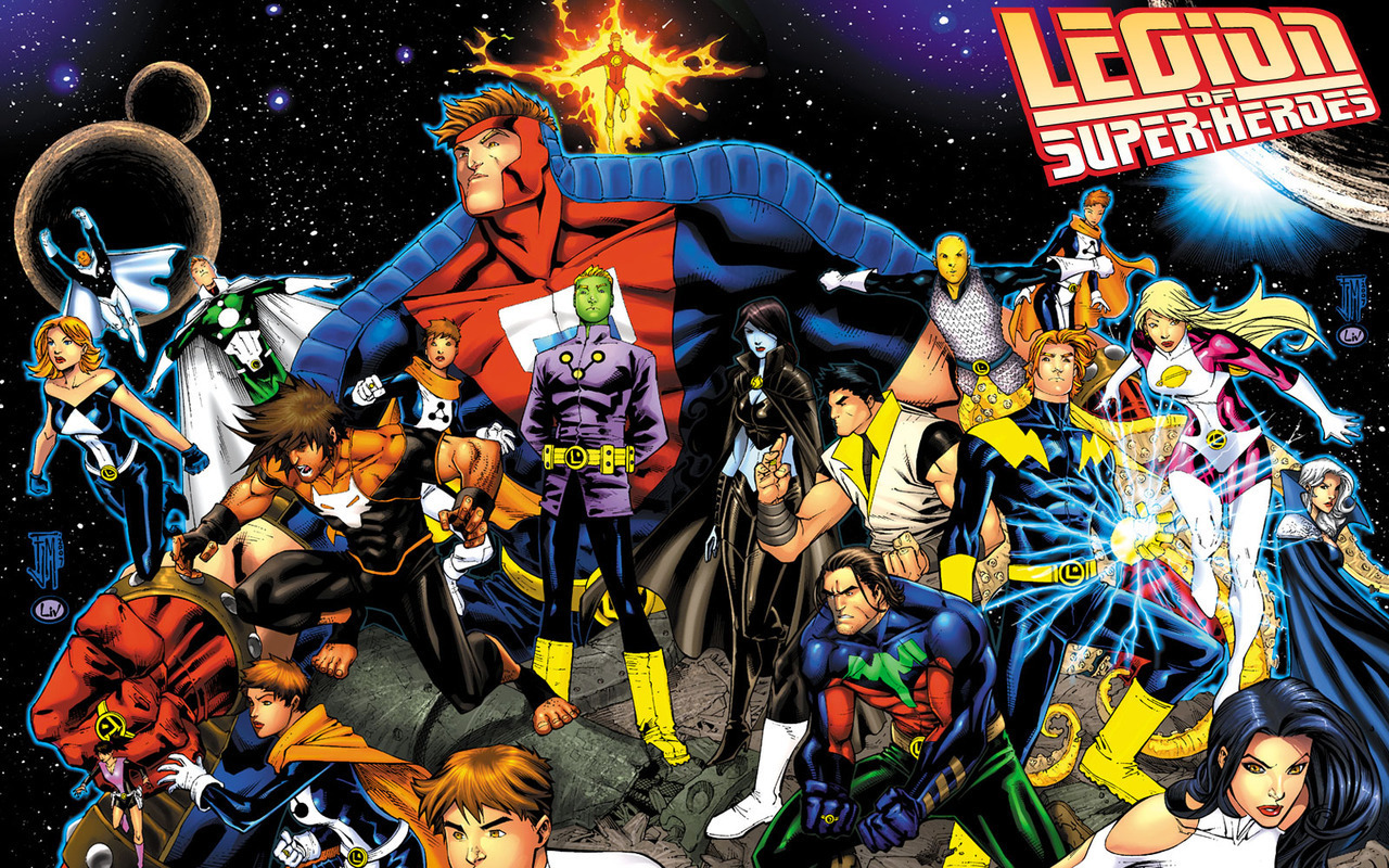 DC Comics Legion_of_Super_Heroes