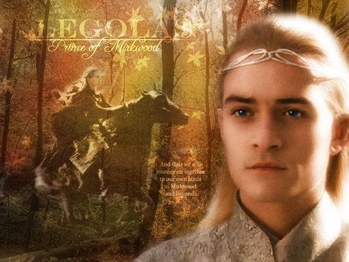 Legolas, The prnice of Mirkwood