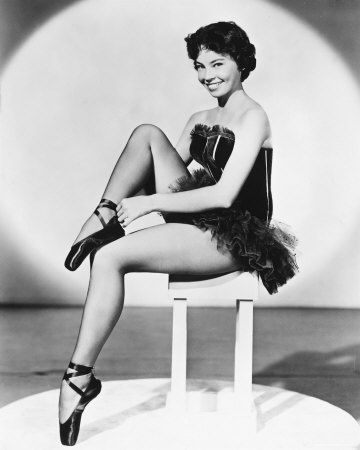 Classic Movies wallpaper probably containing bare legs, a swimsuit, and a lingerie entitled Leslie Caron