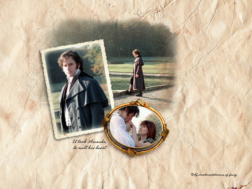 Lost in Austen - Darcy & Amanda