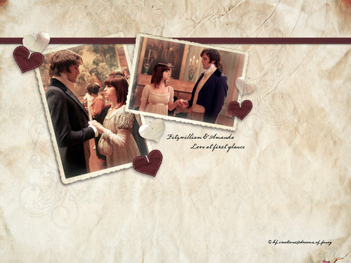 Period Films wallpaper possibly with a newspaper titled Lost in Austen - Darcy & Amanda