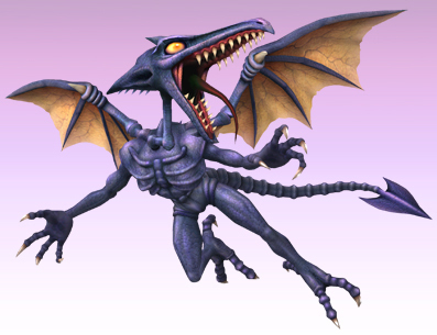 Metroid Prime Images Meta And Regular Ridley Wallpaper Background Photos