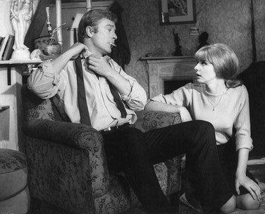 Michael Caine and Jane Asher in Alfie