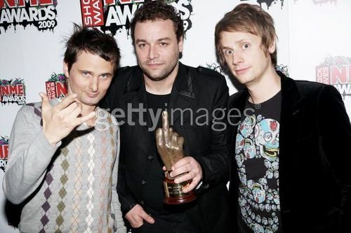 muse at the Shockwaves NME Awards 2009