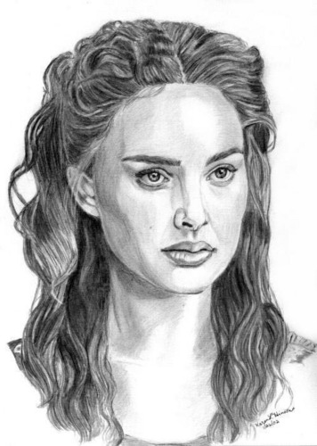 Natalie Portman drawing