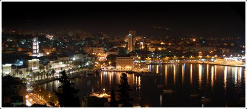 Night in my city