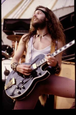 Ted Nugent wallpaper probably containing a guitarist entitled Nugent in 1977