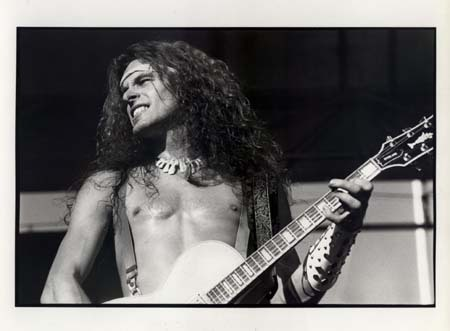 Ted Nugent wallpaper probably with a guitarist titled Nugent in Black & White