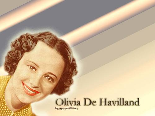 Classic Movies wallpaper containing a portrait titled Olivia De Havilland