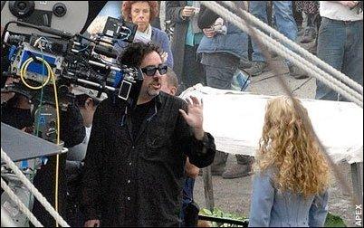 On the set