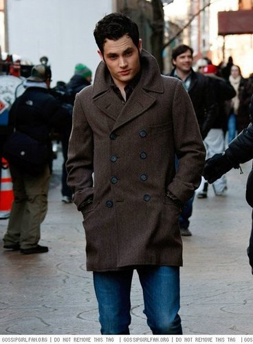 Penn on set 2.23.09