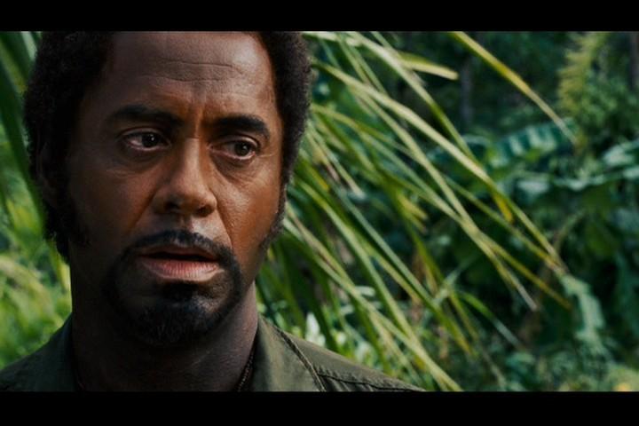 Robert in 'Tropic Thun... Robert Downey Junior