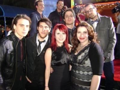 SM at the premiere of Twilight in LA