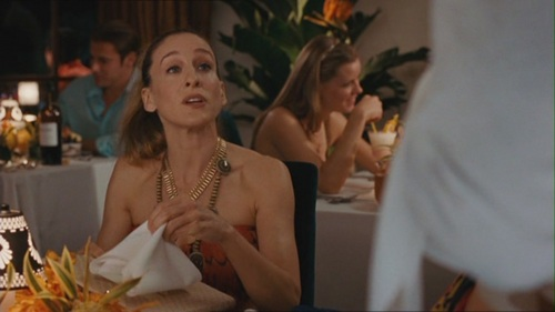 Sarah Jessica Parker Lesbian Scene in Sex And The City.