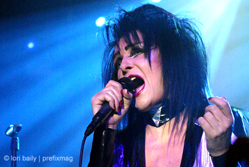 Siouxsie Sioux (2008 show, concerto photo)