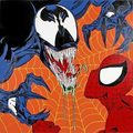 Spider-Man vs. Venom 4 - spider-man-villains fan art