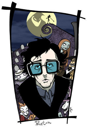 Tim Burton wallpaper possibly containing anime entitled Tim Burton