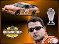 Tony Stewart - 2005 Nextel Cup Champion - nascar wallpaper