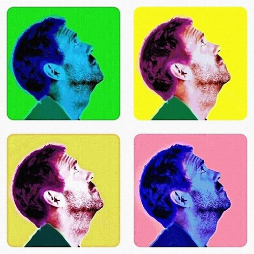 Warhol-ish Hugh