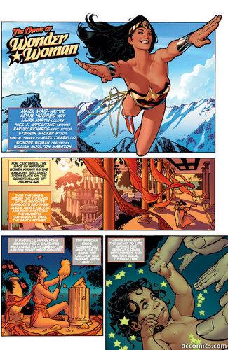 Wonder Woman origin part 1