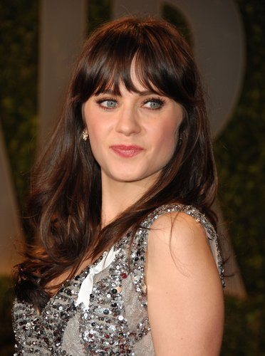 Zooey Deschanel @ 2009 Vanity Fair Oscar Party