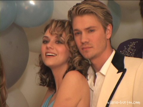 Chad and Hilarie wallpaper probably containing a portrait entitled chilarie