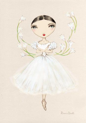 Ballet wallpaper titled giselle