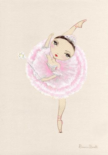 Ballet wallpaper titled sugar plum