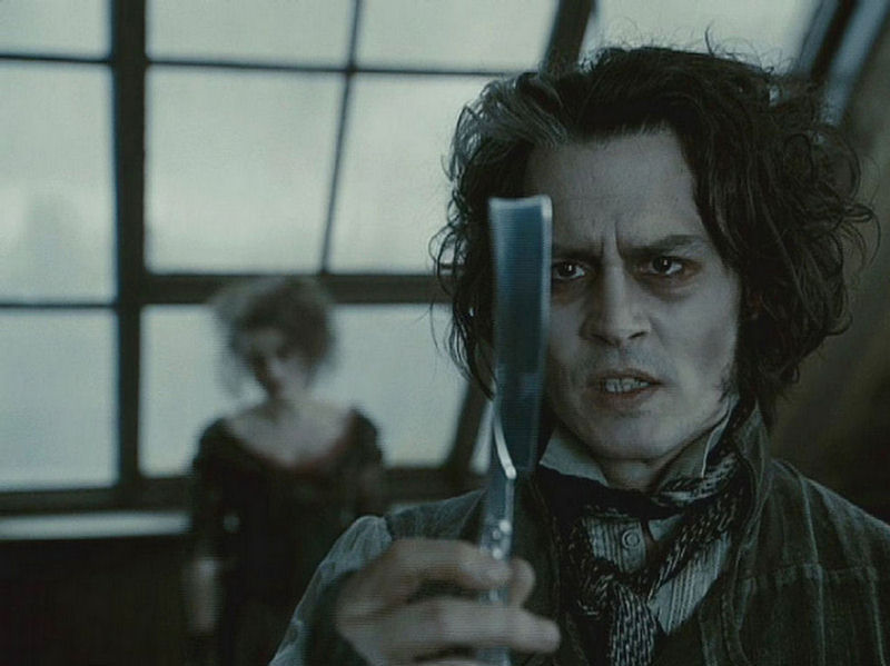 johnny depp blow sunglasses. sweeney todd johnny depp