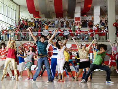 High School Musical wallpaper titled the first song