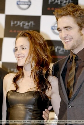"""Twilight"" Press Conference in Japão"