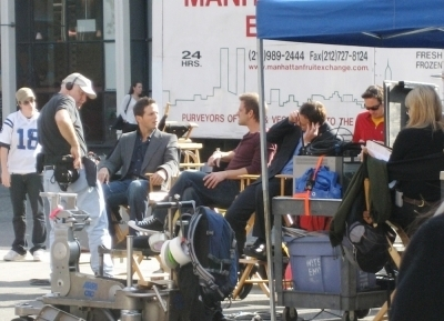 CSI - NY - behind the scenes