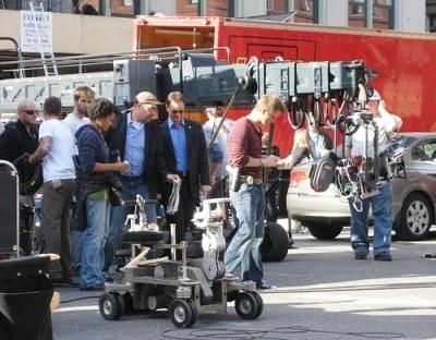 CSI - NY - behind the scenes