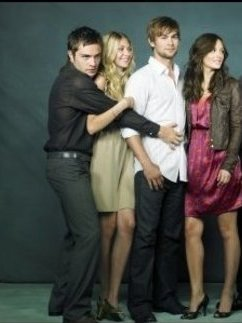 Chuck, Jenny, Nate and Blair