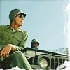 M*A*S*H* photo possibly with a rifleman and a green beret entitled Colonel Flagg