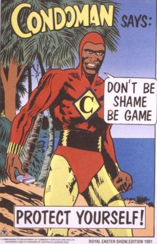 Condoman Says... (1991)