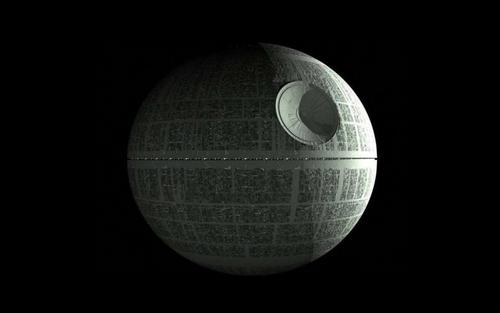 Star Wars wallpaper entitled Death Star