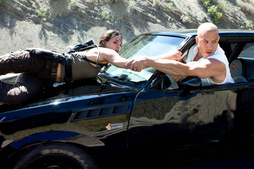 fast and furious wallpaper titled Dom & Letty