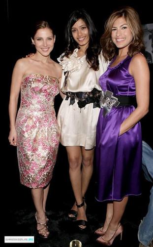 Eva At Dolce and Gabbana Milan Fashion Week Womenswear AW 2009.