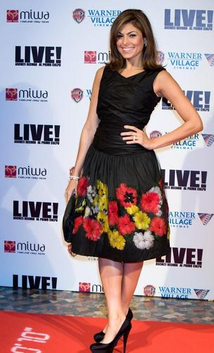 Eva At Live Premiere In Rome. - eva-mendes Photo