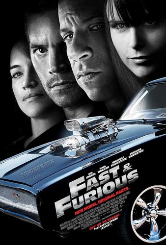 Fast and Furious fond d'écran entitled Fast & Furious Poster #2