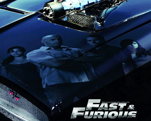 Fast and Furious wallpaper possibly with an automobile, a ski rack, and an internal combustion engine titled Fast & Furious Wallpaper