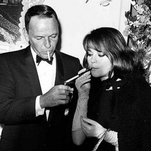 Frank Sinatra and Natalie Wood